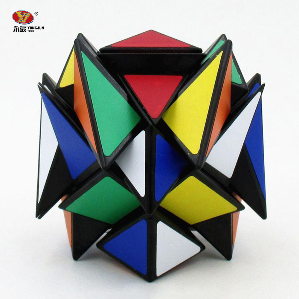 Newest YJ Ultra-smooth Magic Cubes 57mm Professional Speed Magic Cube Learning Educational Twist Puzzle Children Toys -48 yj guanlong speed third order magic cube toy