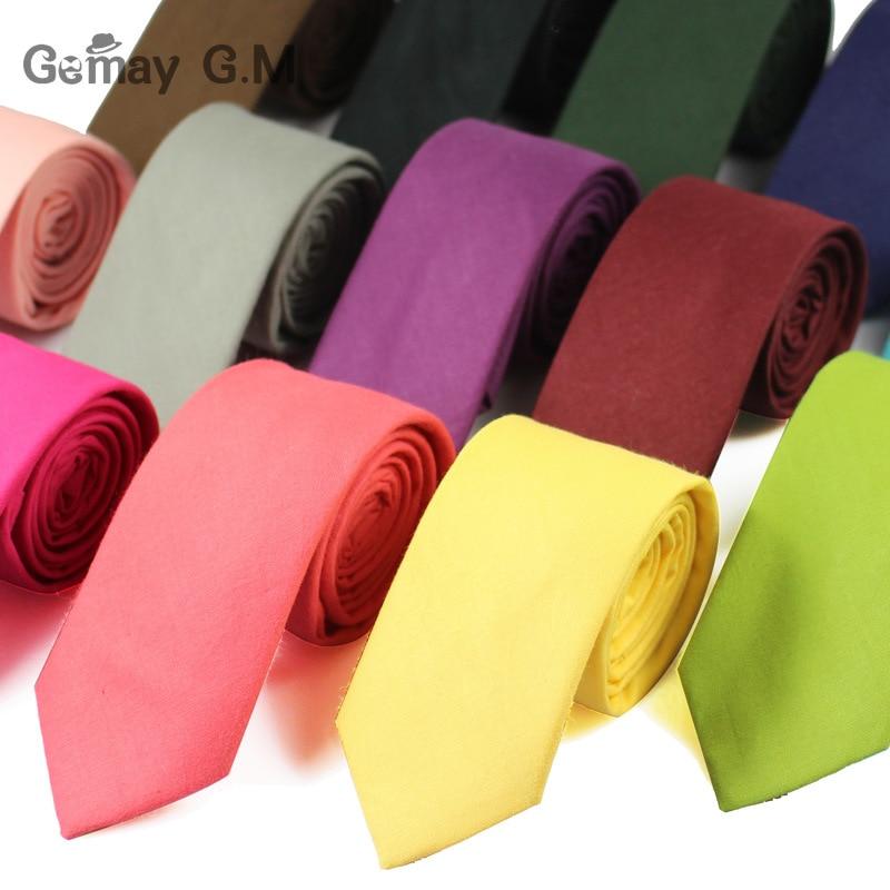 Men Ties Fashion Slim Gentlman Neck Tie Simplicity Design Wedding Party Formal Solid Gravata Polyetster Solid color Neckties
