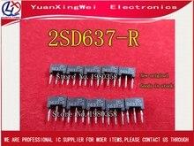20PCS ใหม่ 2SD637 R 2SD637R 2SD637 D637 D637 R, silicon NPN epitaxial ประเภทกบ DIP 3 ซิป 3