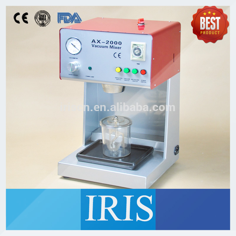 High Qualily Dental Lab Plasters Investments Mixer Equipment Machine For Mix Plaster AX-2000B