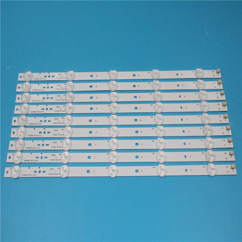 New Kit 10pcs 5LED 395mm LED Backlight Strip For KDL40R450A KDL-40R473A SVG400A81_REV3_121114