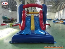 Family inflatable bouncer for garden mini inflatable combo inflatable bouncer with slide outdoor inflatable toys