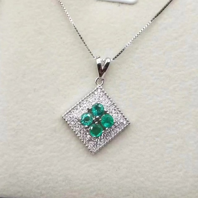 Fidelity natural 35mm emerald pendants s925 sterling silver fashion fidelity natural 35mm emerald pendants s925 sterling silver fashion diamond fine jewelry for women natural aloadofball Choice Image
