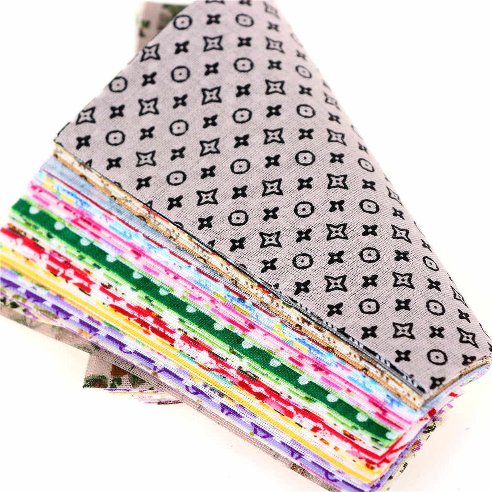 Moodcome 30 peças/lote 10cm x 10cm diy charme pacote tecido de algodão retalhos pacote tecidos tilda pano costura tecido acolchoado quente