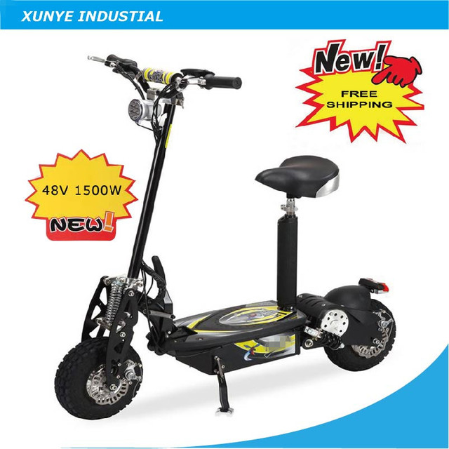 OSB28 BEST SALE Two Wheels 48V 1500W high speed electric scooter