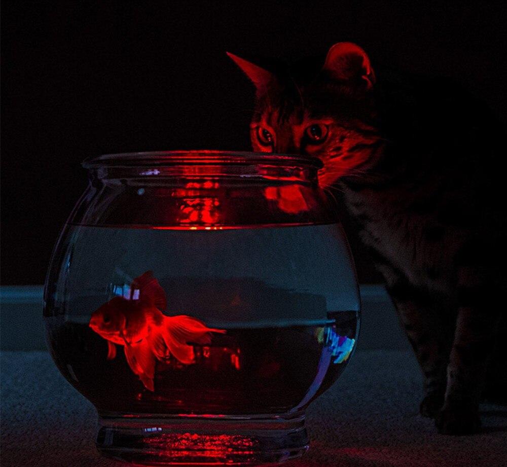 1pc LED multi couleur submersible étanche base de vase de fête de - Éclairage festif - Photo 4