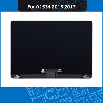"""2015 2016 2017 Year A1534 Display full Assembly for Macbook Retina 12"""" LCD Screen Assembly Space Grey EMC 2746 2991 3099 1"""