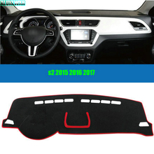 купить Car dashboard Avoid light pad Instrument platform desk cover Mats Carpets Auto accessories For JAC S2 2015 2016 2017 car-styling дешево
