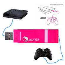 Brook USB Adapter for Xbox One to for PS4 Gaming Super Converter Controller Adapter for joysticks for GT29