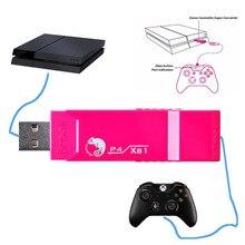 브룩 USB 어댑터 Xbox 1 용 PS4 게임용 슈퍼 컨버터 컨트롤러 어댑터 GT29 용 조이스틱 용