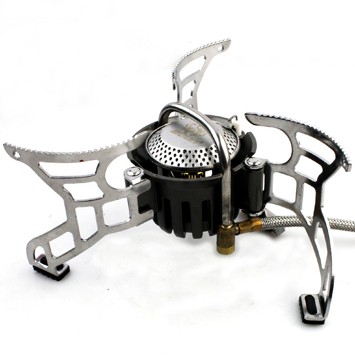 Free shipping Outdoor split type camping cooking stove, cooking gas,portable stove Bulin BL100-T4-A bulin camping stove gas stove outdoor cooking burner bl100 t4