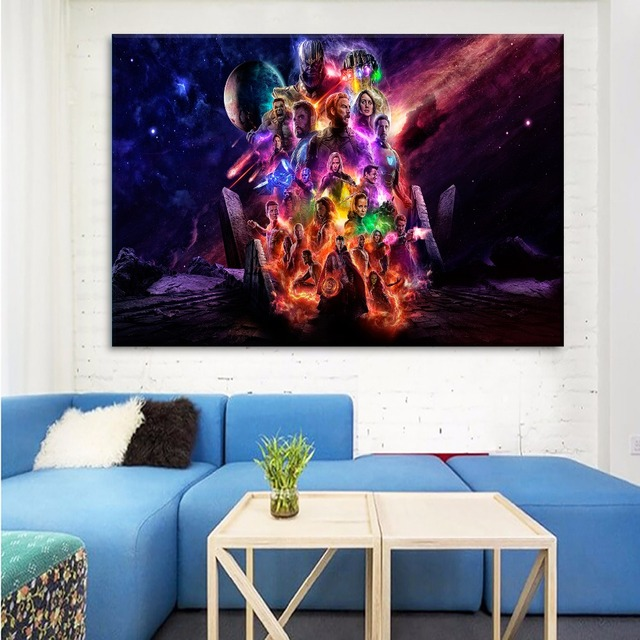 HD Printed Painting Home Decoration Framework Or Frameless