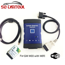 For GM MDI with Wifi Card Auto Diagnostic Tool Multiple Interface MDI Without Software by DHL Shipping