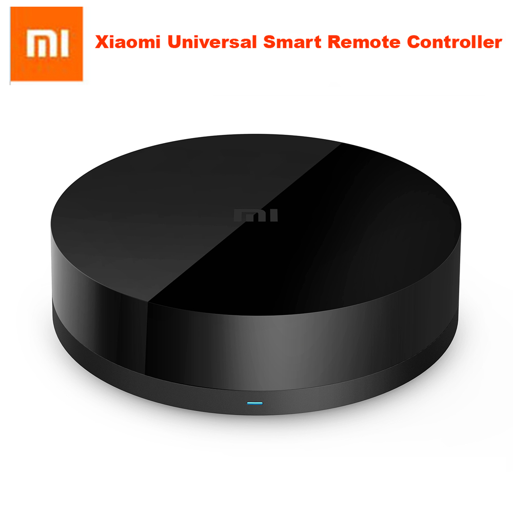 100%Original Xiaomi Universal Intelligent Smart Remote Controller WIFI+IR Switch 360degree Smart Home Automation Mi smart sensor in stock 100% xiaomi mi universal smart remote controller home appliances wifi ir switch 360 degree smart for air conditioner tv