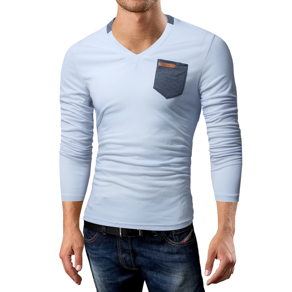 Phertiful 2017 Cotton Solid Pullovers Sweaters Man Plus Size S-3XL O Neck Navy Clothing Man's Casual T-shirt 818