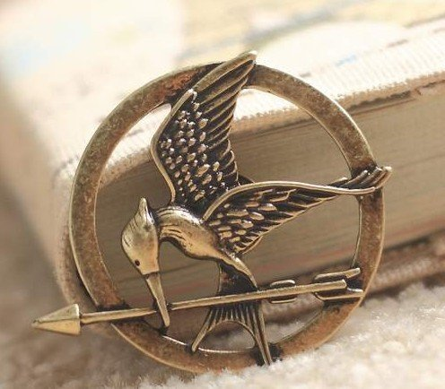 The Hunger game bird brooch