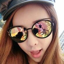 JN Summer Vintage Sunglasses Women Brand Designer Sun Glasses For Women Lunette Round Glasses Metal Frame Sunglasses T2115