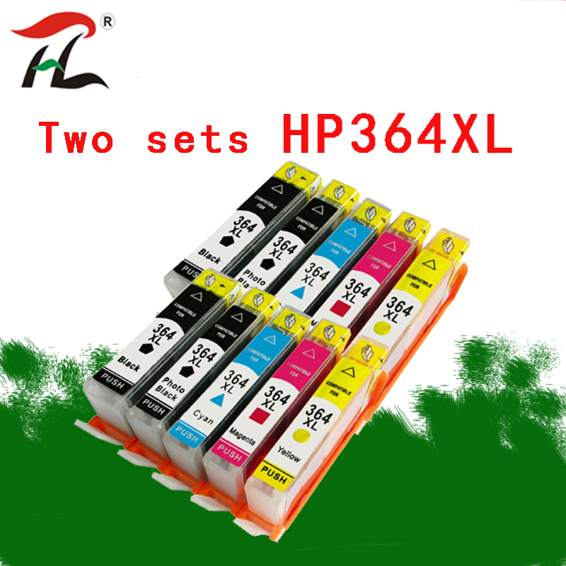 10Pack <font><b>364XL</b></font> For HP364XL Ink Cartridges Replacement for <font><b>HP</b></font> <font><b>364XL</b></font> for <font><b>HP</b></font> Deskjet 3070A 5510 6510 B209a C510a C309a Printer image