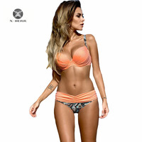 Herr S Work Push Up Swimsuit 2016 Bikini Set Sexy Women Brazilian Bikinis Molded Up Swimwear