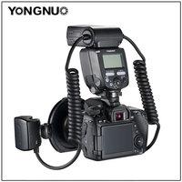 Yongnuo YN24 EX YN24EX ETTL Macro photo Flash Speedlite for Canon with Double Head Flash light for Canon EOS 5DIII 7DII 80D 750D