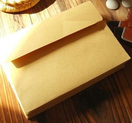5 Pcs/lot 160*110mm Vintage Nature Style Kraft Paper Envelopes DIY Multifunction Cards Letter Envelope Money Package