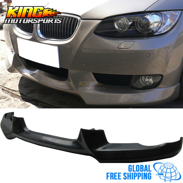 40639484855 Fit For 07 08 09 10 BMW E92 335i 328i Coupe 2DR PU Front Bumper Lip Bodykit  ACS Style New Global Free Shipping Worldwide