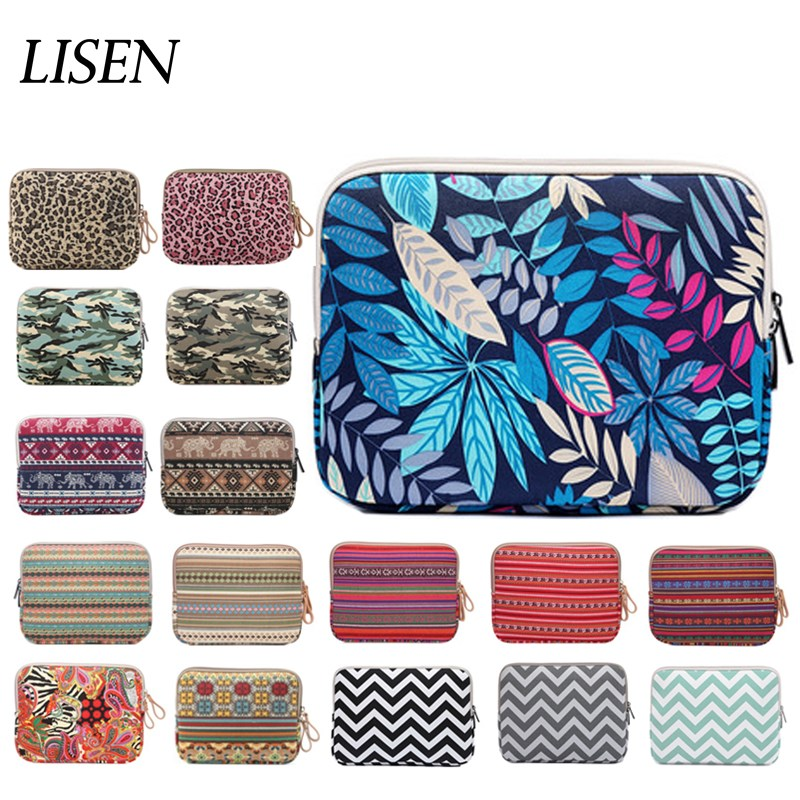 2018 new fashion Sleeve case canvas stripe for Apple ipad 2 3 4 9.7 ipad air 1 2 ipad pro 10.5 inch protective pouch tablet bag 8 inch 10 1 inch universal tablet sleeve bag for ipad 9 7 2017 2018 air pro case mini 1 2 3 4 5 for huawei samsung pouch cover