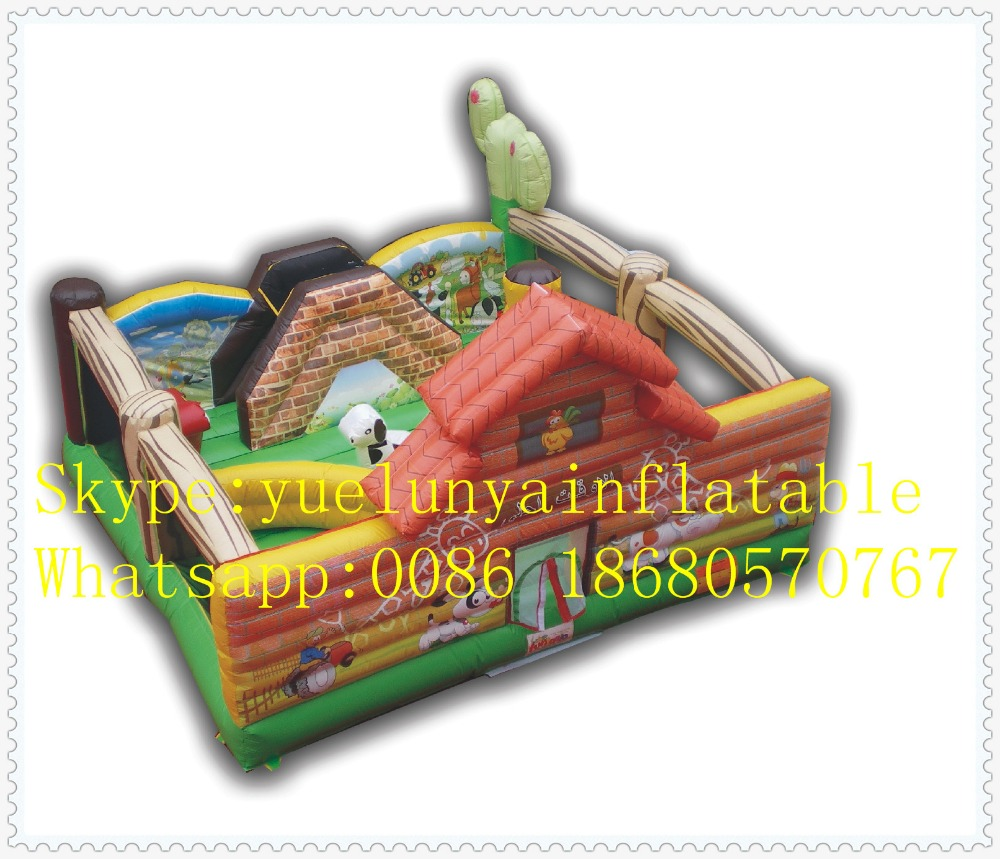 Factory direct Inflatable slide,Inflatable castle,Farm Castle Trampoline KYB-32 factory direct inflatable trampoline inflatable castle inflatable slide obstacle yly 0177
