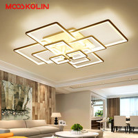 2018 chandelier luxury Large high brightness LED chandelier Remote lighting fixture abajour luster for living room bedroom salon