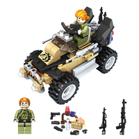 2017 NEW Model Building Blocks Compatible Legoing Car Military Vehicle Army Swat Team Bricks Toys For