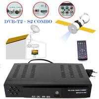 Digital Terrestrial Satellite Receiver Combo DVB T2 S2 TV Tuner Receivable MPEG4 DVB T2 TV Receiver