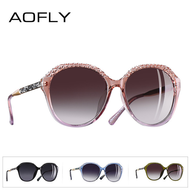 AOFLY BRAND DESIGN Polarized Sunglasses Women Gradient Sun Glasses For Women 2018 Fashion Glasses UV400 A133 3