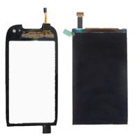 Black For Nokia C7 C7 00 Touch Screen Digitizer Sensor Glass Panel LCD Display Monitor Screen