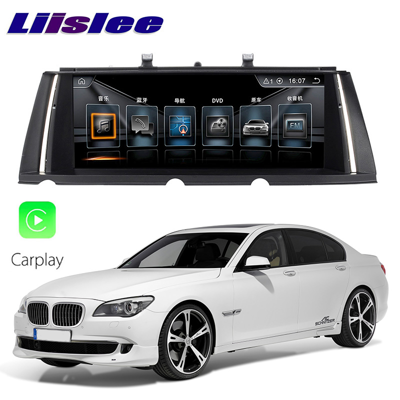 LiisLee Car Multimedia GPS Audio Hi Fi Radio Stereo For BMW 7 Series F01 F02 F03 F04 Original NBT Style Navigation NAVI