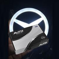 Shenlao Car Styling 4D Cold Light LED Emblem Logo Light for Mercedes Benz w212 w203 w221 s350 s300l Rear Badge Emblem Light