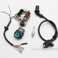 IGNITION REBUILD KIT CHINESE ATV GY6 50CC 70CC 90CC 110CC ATV STATOR CDI COIL A7TC SPARK PLUG new