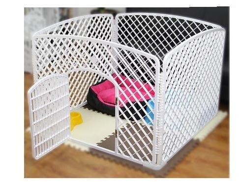 клетка собаки забор
