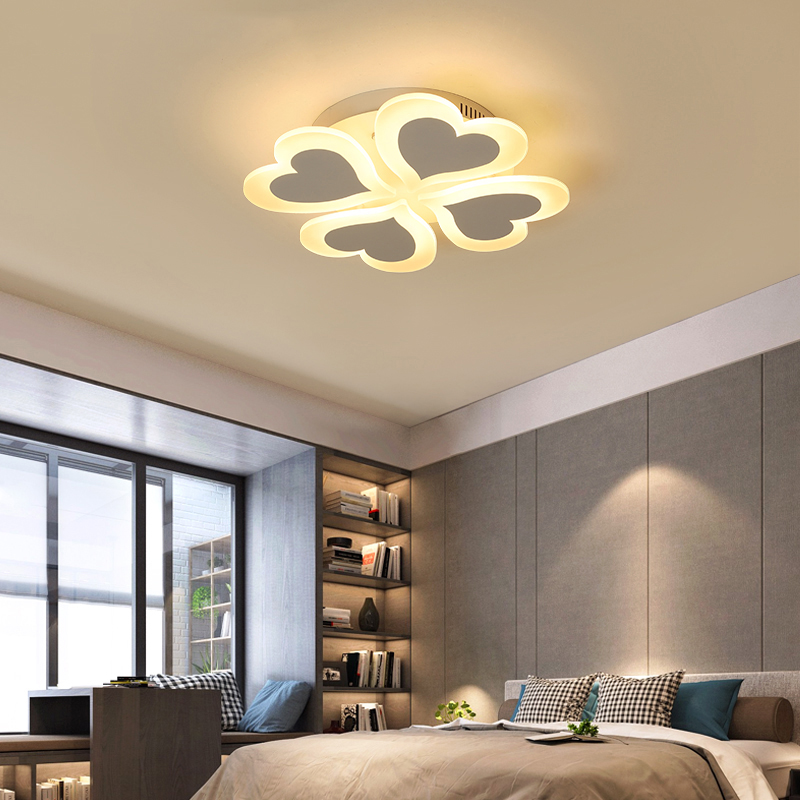 Chandeliers Ceiling Lights & Fans Modern Led Ceiling Chandelier Lights For Living Room Bedroom Dining Study Room White Black Body Ac90-260v Chandeliers Fixtures