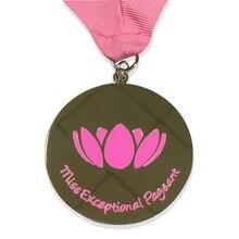 Customized Zinc Alloy Soft Enamel Logo medal  new No Plating Medallion