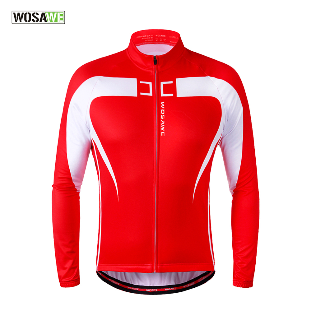 WOSAWE Thermal Fleece Cycling Jersey Winter Warm Up Bicycle Clothing Windproof Mountain Soft shell Coat MTB Bike Jackets wosawe cycling jersey sets winter thermal sports pro jersey triatlon bike bicycle clothing jackets pants men women