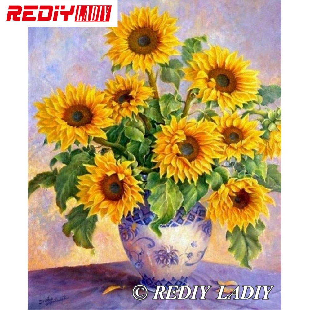 30x37.5cm 3D Accurate printed crystal beads embroidery kit sunflower beadwork crafts needlework diy beads cross stitch APT64530x37.5cm 3D Accurate printed crystal beads embroidery kit sunflower beadwork crafts needlework diy beads cross stitch APT645