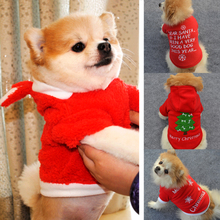 Popular High Quality New Pet Dog Clothes Christmas Dog Coat Warm Sweater Embroidered Shake Velvet