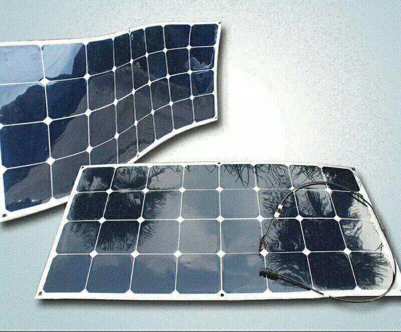Sales Of High Tech Synthetic Semi Flexible Solar Panels