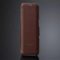 Fashion Brand Genuine Leather Lichee Pattern Case Coque For Samsung Galaxy S6 Edge G9250 Cover Flip