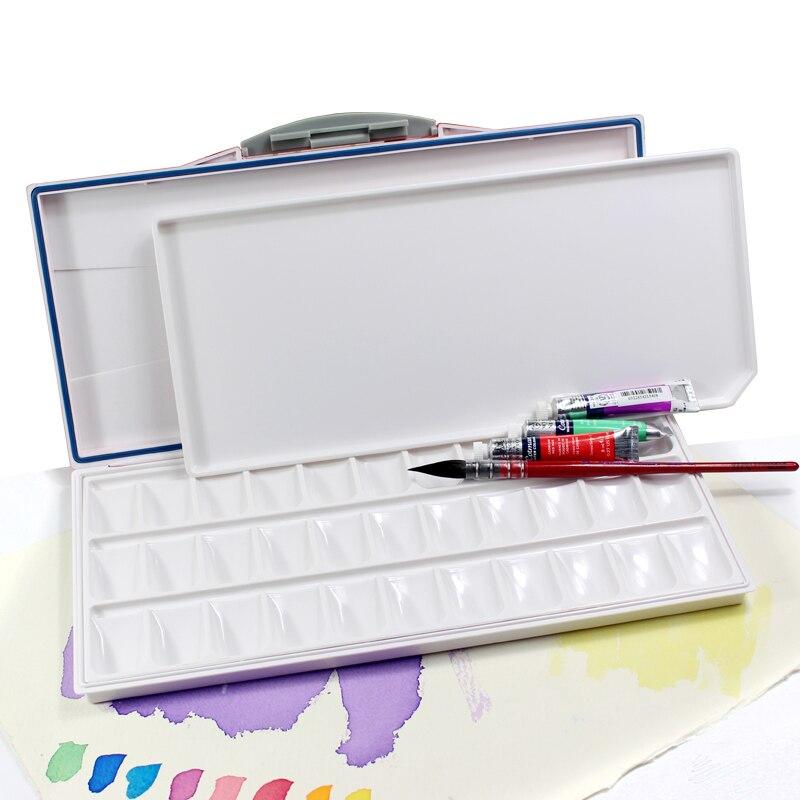 Advanced Moisturizing Watercolor Paint Palette Professional Plastic Watercolor Palette Art Supplies Art Supplies