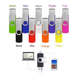 Красочные поворачивается OTG Smart flash Флеш накопитель 32 ГБ 8gb16g 64 г 4 ГБ OTG Memory Stick Micro USB flash драйвера для смартфон Tablet