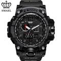 Marca de lujo Reloj Digital Relojes de Los Hombres Casuales hombres Impermeabiliza el Reloj Del Deporte LED Reloj de Cuarzo Militar Hombres Relogio masculino Negro