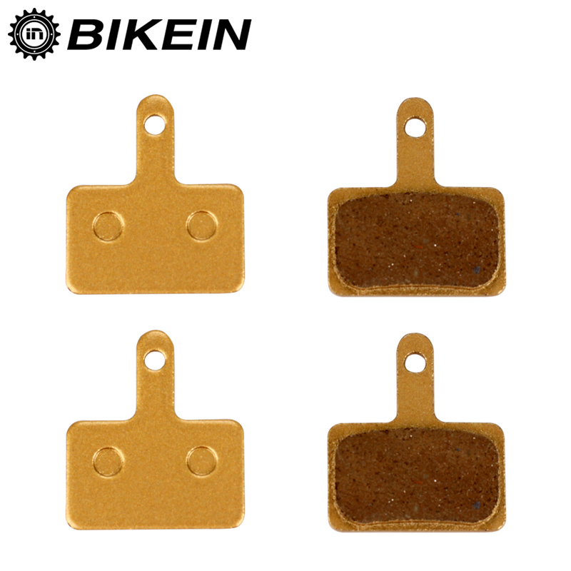 BIKEIN - 2 Pairs Bicycle Disc Brake Pads For Shimano M375 M395 M416 M445 M446 M485 M486 M515 M525 Tektro Orion Auriga Pro Aquila