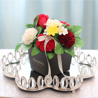 Cake stand decorating for wedding cake topper Metal tray Wedding decorating tray Dessert Plate Wedding decoration gifts