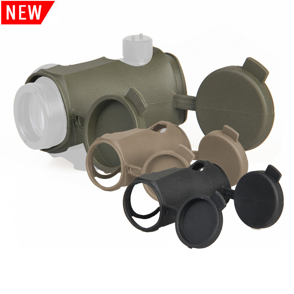 Tactical T1 Red Dot Scope Rubber Cover Scope Protective Holder For Protective Sleeve Reflex Sight Eye Relief OS33-0065 image